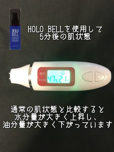 HOLO BELL 5分後