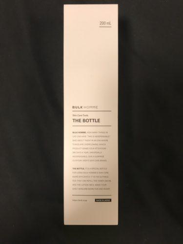 バルクオム THE BOTTLE 200mL