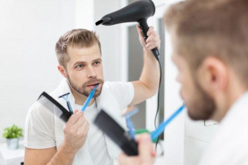 髭剃り タイミング