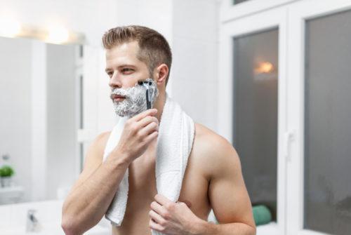 髭剃り 痛い 正しい髭剃り方法