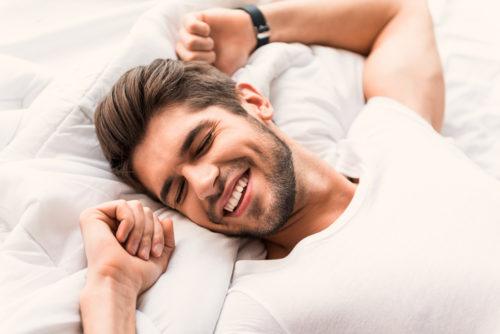 乾燥肌 男 質の良い睡眠
