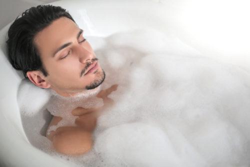 乾燥肌 男 入浴
