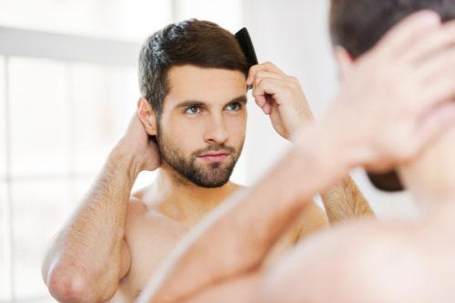 鼻が低い 男 髪型