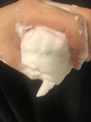 ロゼット洗顔パスタ アクネクリア 泡の質