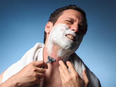 髭剃り 痛い
